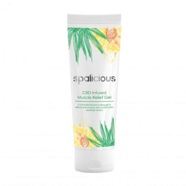 CBD Infused Muscle Relief Gel